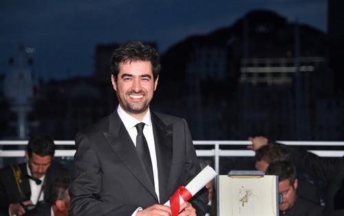 شهاب حسینی بهترین بازیگر جشنواره کن شد (عکس)
