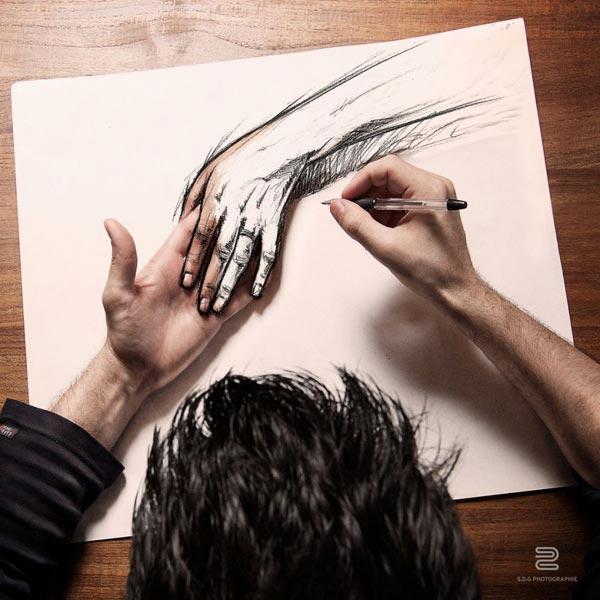 تلفیق زیبای عکاسی و طراحی به شیوه شگفت انگیز