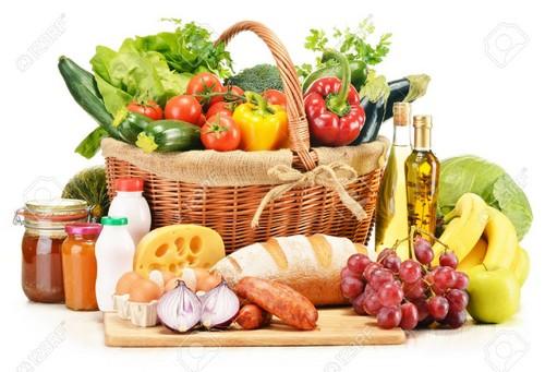نحوه ی مصرف لبنیات و سبزی و میوه در روز