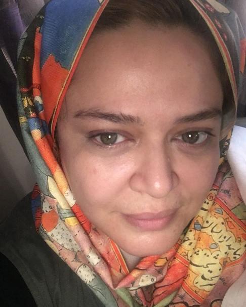 چهره ی جنجالی بدون آرایش بهاره رهنما (عکس)