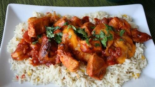 طرز تهیه خوراک مرغ مکزیکی خوشمزه