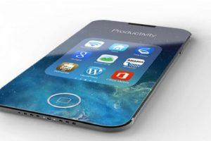 گوشی جدید آیفون 8 با صفحه نمایش خمیده