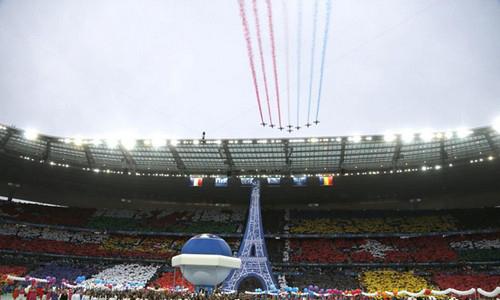 عکس های جنجالی از افتتاحیه جام ملتهای اروپا