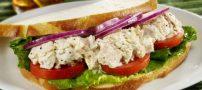 نحوه ی درست کردن ساندویچ تن ماهی