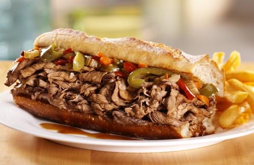 نحوه ی درست کردن ساندویچ گوشت ایتالیایی