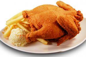 به هیچ عنوان مرغ سوخاری نخورید !!