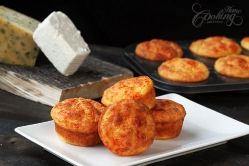 نحوه ی درست کردن مافین پنیری