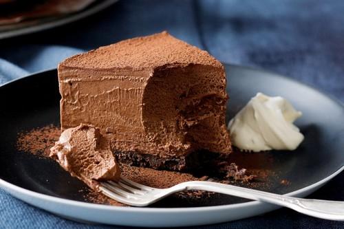 نحوه ی درست کردن موس کیک شکلاتی