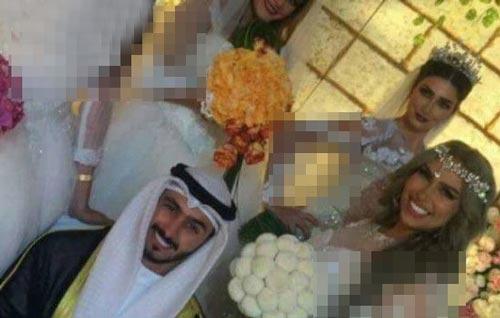 ازدواج باورنکردنی این مرد با 4 زن زیبا (عکس)