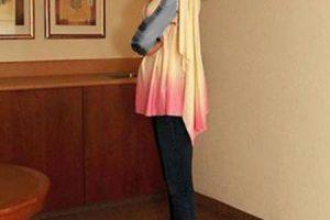 این دختر درازترین پای دنیا را دارد (عکس)