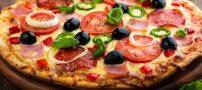 طرز تهیه پیتزا رامن بدون خمیر