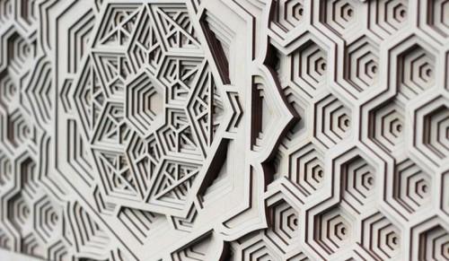 عکس هایی از ساخت طرح های دیدنی با چوب