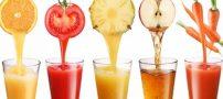 نکاتی در رابطه با گرفتن آب میوه ها