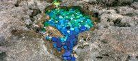 عکس های حیرت آور از هنرنمایی جالب با زباله ها