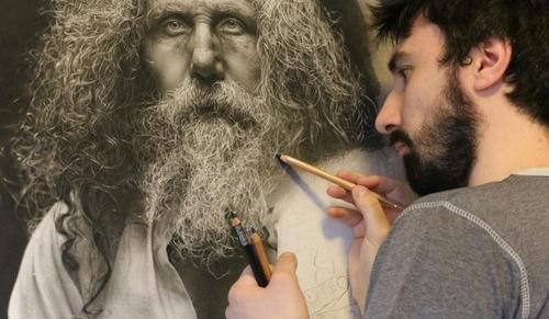 عکس هایی از نقاشی های باورنکردنی هنرمند ایتالیایی