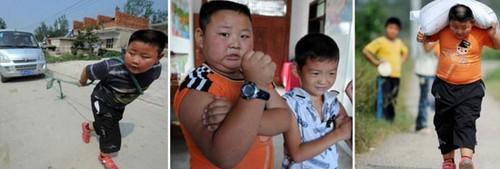 عکس هایی از معروفترین کودکان بدنساز دنیا