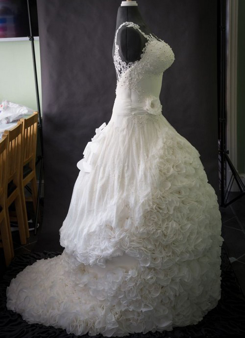 عکس هایی از لباس عروس شیک و کاملا خوردنی