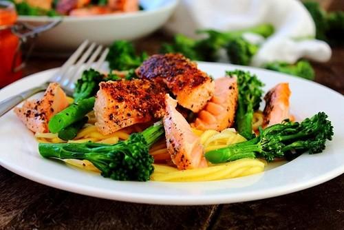 آموزش پختن ماهی سالمون