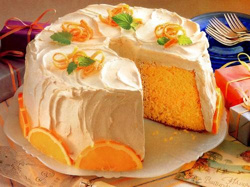 چگونه کیک پرتقالی ژله ای درست کنیم؟