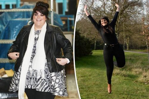 کاهش وزن باورنکردنی این خواننده زن (عکس)