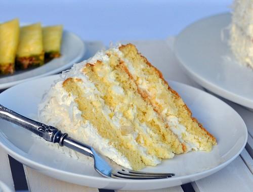 راز درست کردن کیک آناناس و نارگیل