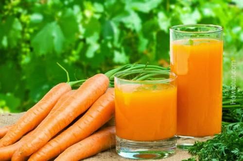 با خوردن آب هویج چاق شوید