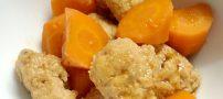 نحوه ی درست کردن کوفته هویج و تره