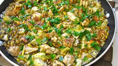روش پخت و مواد لازم برای کنگر پلو