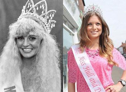 این مادر و دختر هر دو ملکه زیبایی شدند (عکس)
