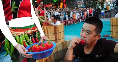 عکس هایی از جشنواره هیجان انگیز و دیدنی در ژاپن