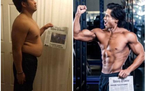 لاغری عجیب این مرد در مدت 3 ماه همه را شوکه کرد (عکس)
