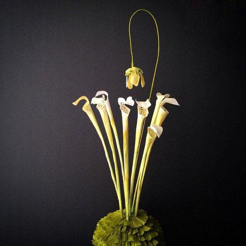 عکس هایی از گل های ساخته شده با کاغذ  عکس هایی از گل های ساخته شده با کاغذ 146965218112601 irannaz com