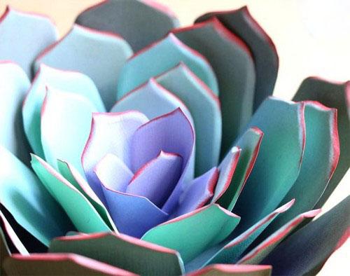 عکس هایی از گل های ساخته شده با کاغذ  عکس هایی از گل های ساخته شده با کاغذ 146965219269120 irannaz com