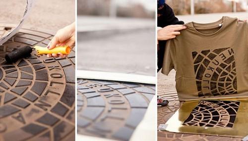 روش باورنکردنی طراحی روی لباس و پوشاک (عکس)