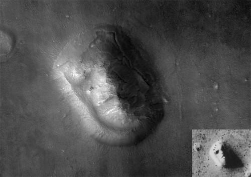 عکس ثبت شده و باورنکردنی از مریخ