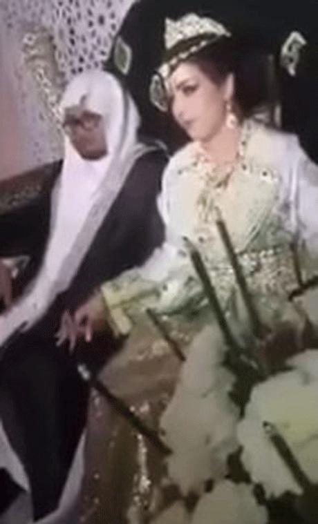 سوژه شدن ازدواج این مرد عرب با یک زن بی حجاب (عکس)