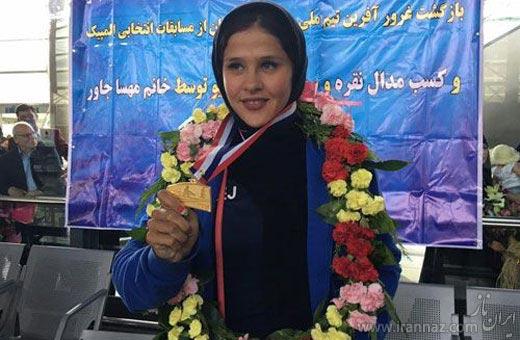 دوست داشتنی ترین دختر ایرانی در المپیک (عکس)