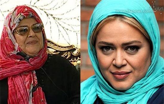 عکس های دیدنی از مادر و دخترهای سینمای ایران  عکس های دیدنی از مادر و دخترهای سینمای ایران 1349551345 irannaz com