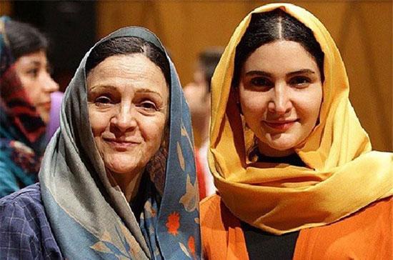 عکس های دیدنی از مادر و دخترهای سینمای ایران  عکس های دیدنی از مادر و دخترهای سینمای ایران 1445195123 irannaz com