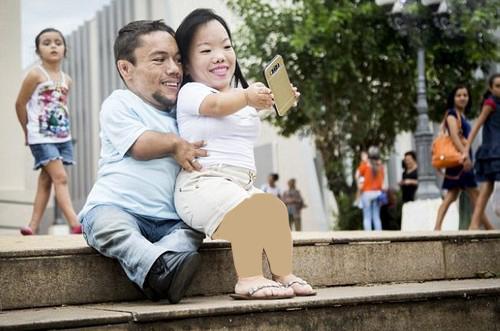 با کوتاه ترین زوج دنیا آشنا شوید (عکس)