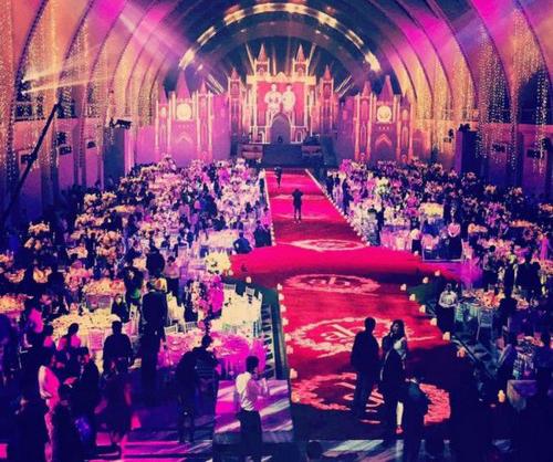 عکس هایی از مجلل ترین عروسی در چین