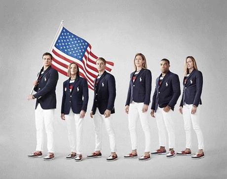 عکس جنجالی از لباس کاروان المپیک آمریکا