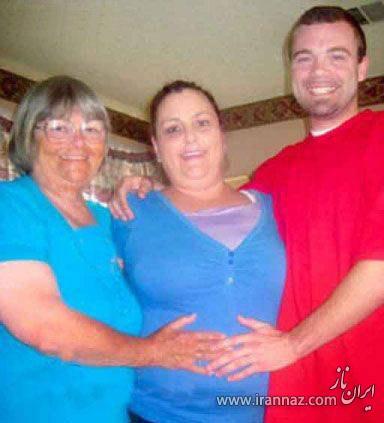 این مادربزرگ میخواهد از نوه اش بچه دار شود (عکس)