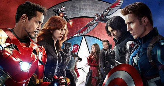 فروش میلیاردی و عجیب فیلم کاپیتان آمریکایی +عکس