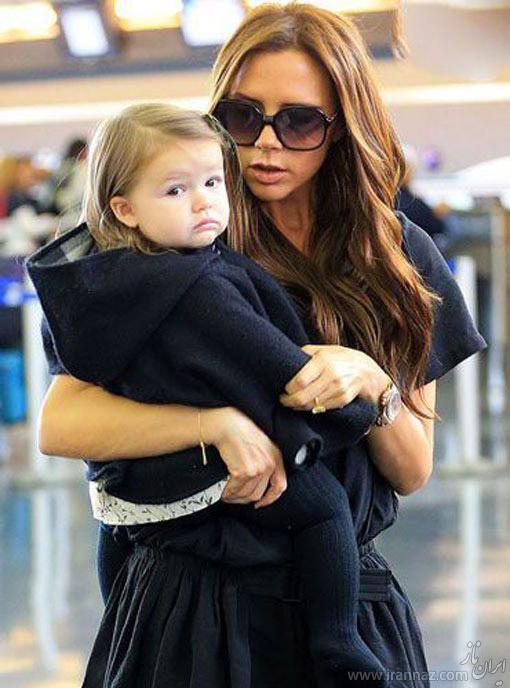 هنرمندان معروفی که مادران خوبی هم هستند (عکس)