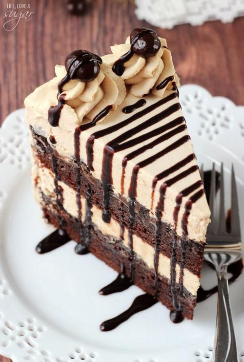 راز درست کردن یک کیک بستنی متفاوت