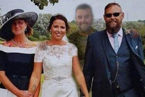 حضور برادر مرده در عروسی خواهرش (عکس)