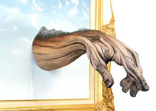 عکس هایی از مجسمه های سرامیکی طرح چوب  عکس هایی از مجسمه های سرامیکی طرح چوب 147206555933644 irannaz com