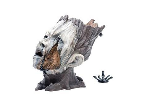 عکس هایی از مجسمه های سرامیکی طرح چوب  عکس هایی از مجسمه های سرامیکی طرح چوب 147206557581748 irannaz com