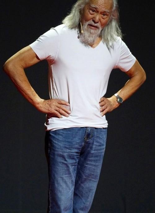 عکس هایی از مدلینگ 80 ساله خوش استایل